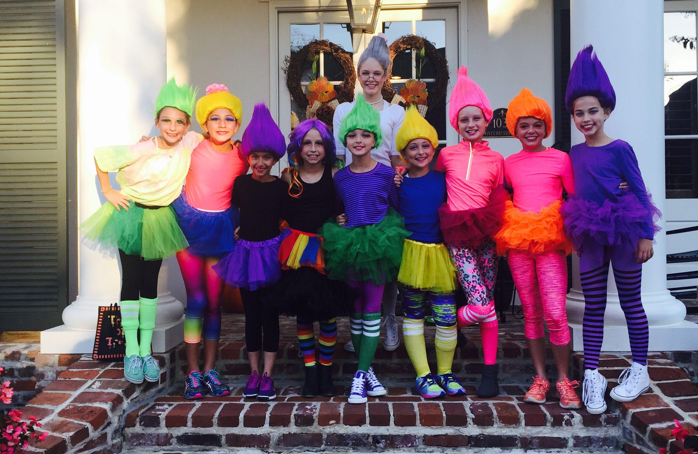 Trolls costumes costumes pinterest troll costume for Halloween dance floor ideas