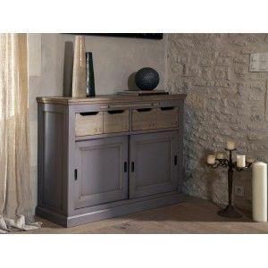 Meuble D Entree 2 Portes 2 Tiroirs Oak Furniture Occasional Furniture Dining Furniture