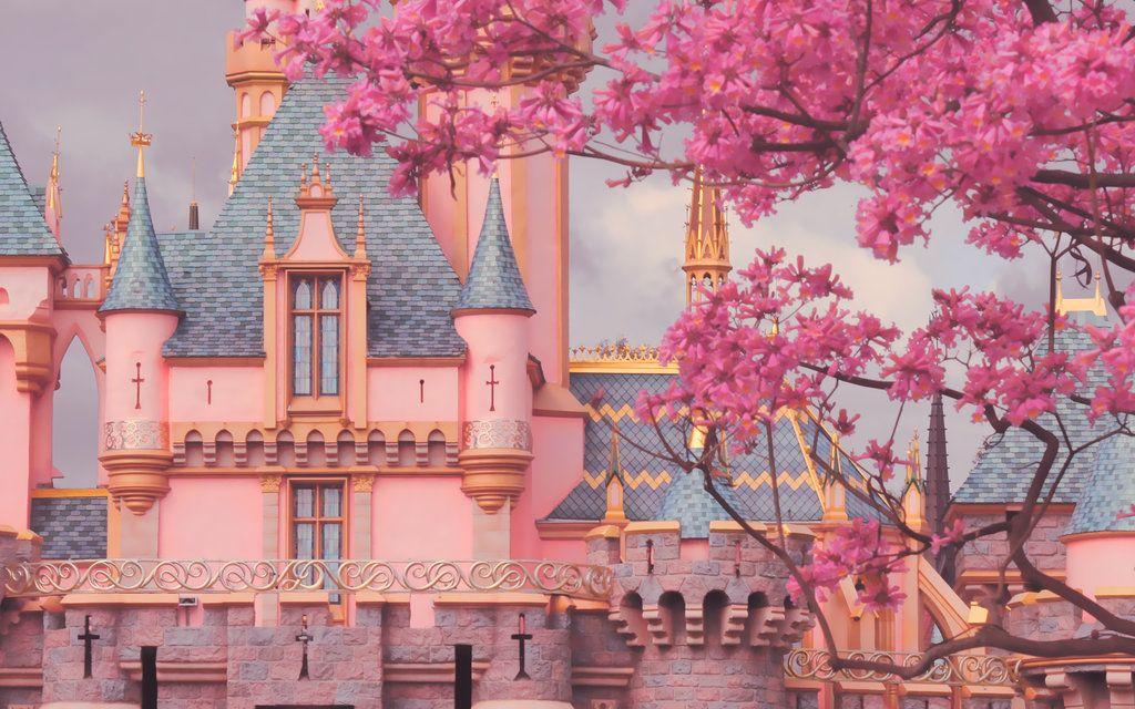Castle Wallpaper By Feelthecolours D6lp3py Jpg 1024 640 Sleeping Beauty Castle Architecture Wallpaper Disneyland