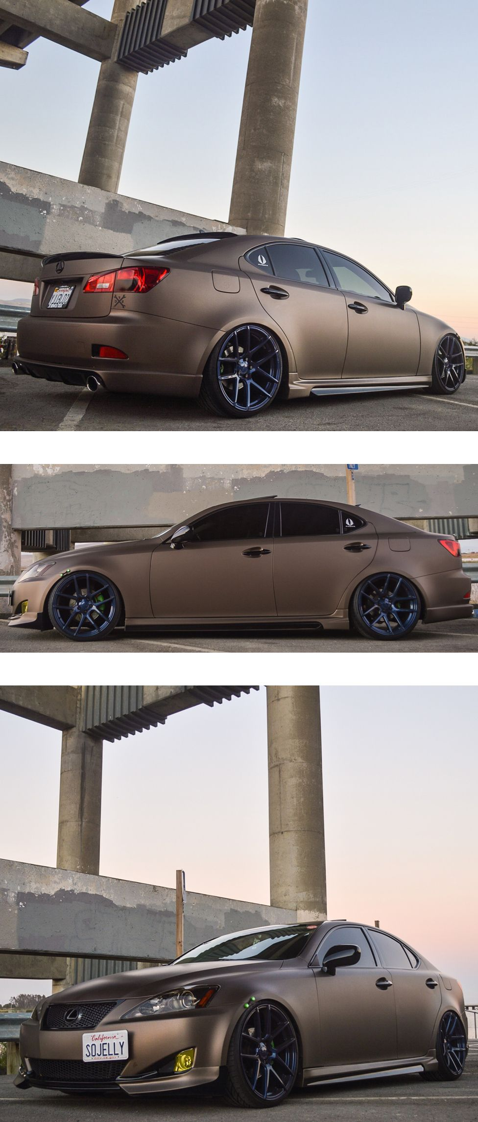Sick wrap and images of this lexus from speed fiendz for Garage wraps
