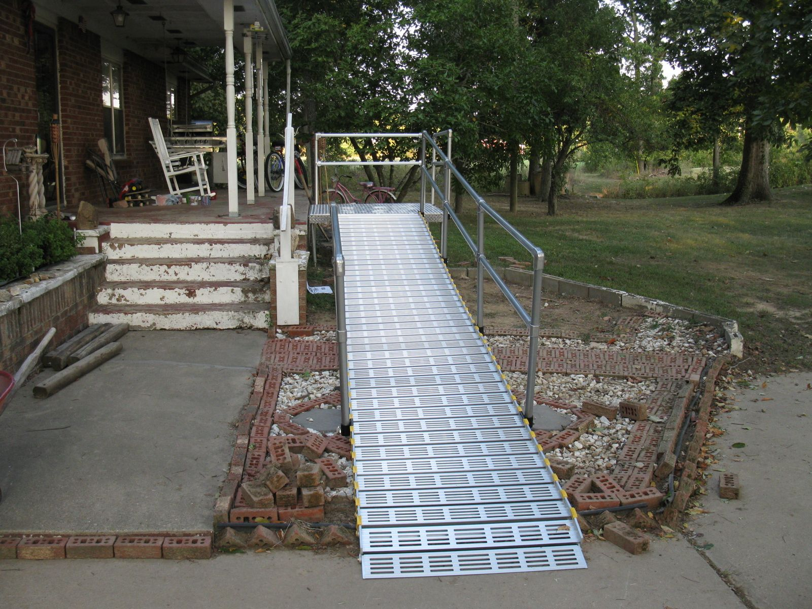 Park Art|My WordPress Blog_Roll A Ramp With Handrails