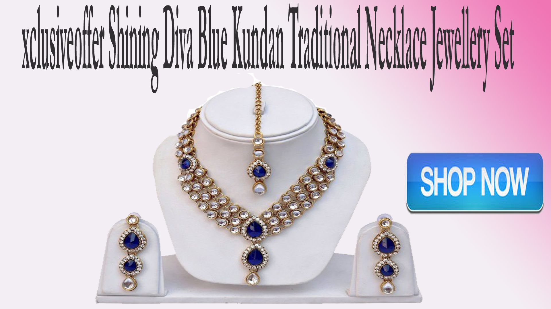 xclusiveoffer give special discount on shining diva blue