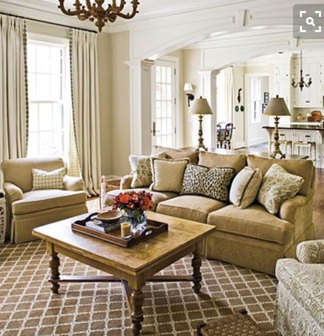 Beau Room · Luxury Living RoomsSouthern LivingFamily ...