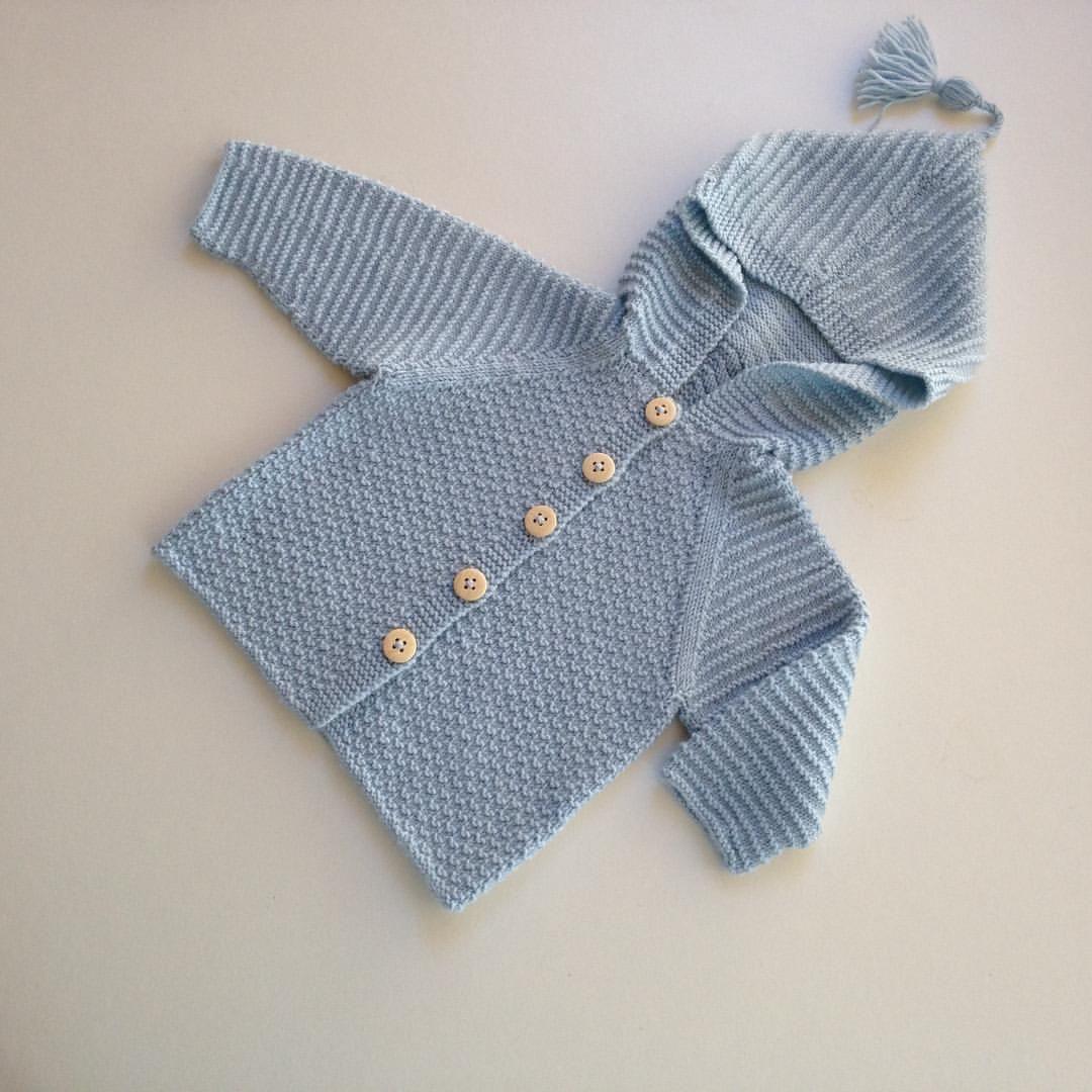 Jakke #mayflower #babystrikk #babytøj #merino #drops #mormorstrik #babystrik #knit #homemade