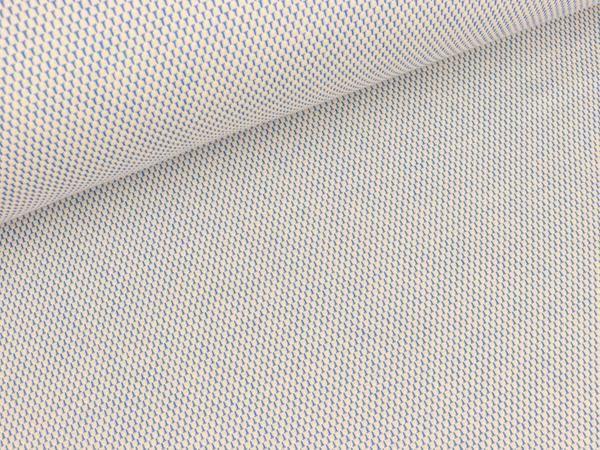 Bei diesem 3D-Elastic-Jersey handelt es sich um ein hautsympatisches Singlejersey-Gestrick aus Bio-Baumwolle mit Elastan. Der Einsatzbereich ist demenstrpechend vielseitig: Angefangen vom Strampler für die Kleinsten bis zum superbequemen Blazer - der Kreativität sind keine Grenzen gesetzt. Dieser weiche und sehr angenehm zu tragende Hamburger Liebe Bio Jacquard Jersey aus deutscher Produktion wird mit Bio Baumwolle aus kontrolliert biologischem Anbau auf Rundstrickmaschinen in Albstadt…