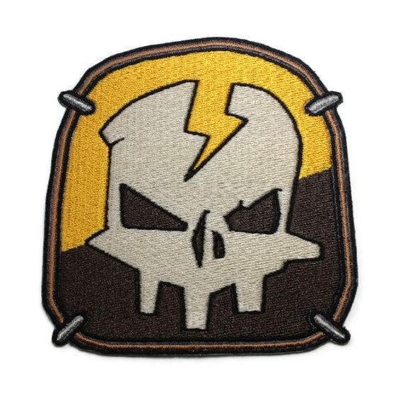 Iron on Borderlands 2 Axton shoulder patch by ThatsWhatINeeded