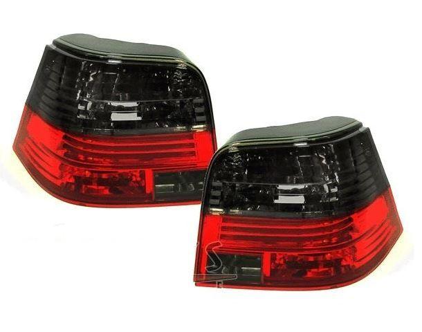 Volkswagen Golf Mk4 3 5dr 98 04 Crystal Red Smoked Rear Tail Lights Motocicletas