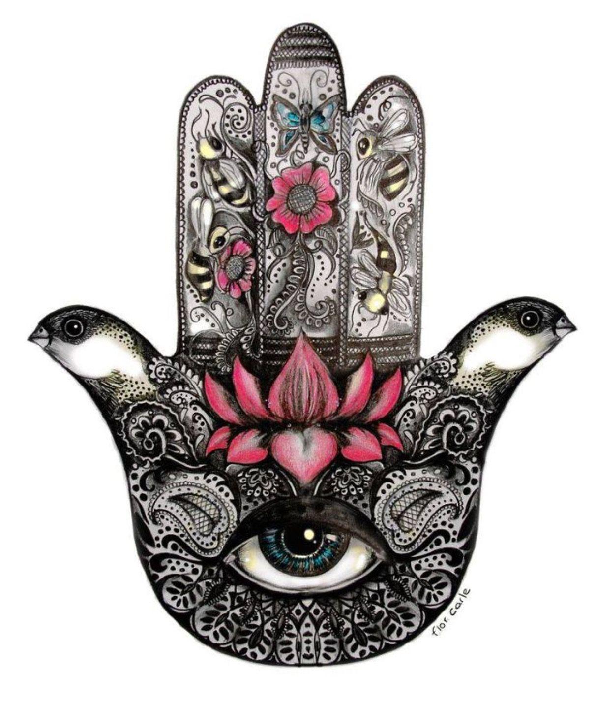 Pin De Jorge Elorduy En Tatuajes Tatuaje De Mano De Fatima