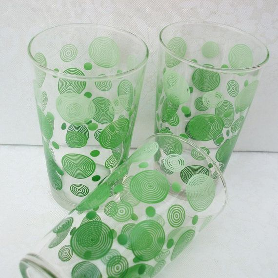 love these! | glass | Vintage glassware, Vintage dishes ...