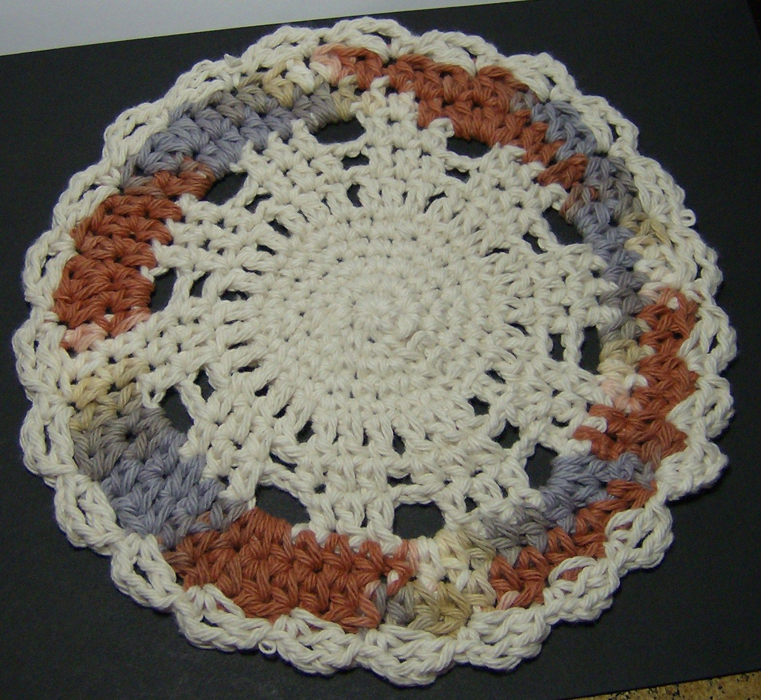 Crochet cotton dishcloth no pattern kitchen crochet crochet cotton dishcloth no pattern bankloansurffo Image collections