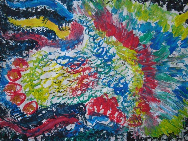 Tekenmaar volwassenen: schilderen met karton