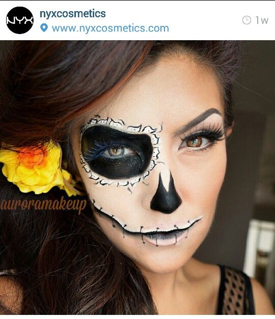 maquillage halloween nyx