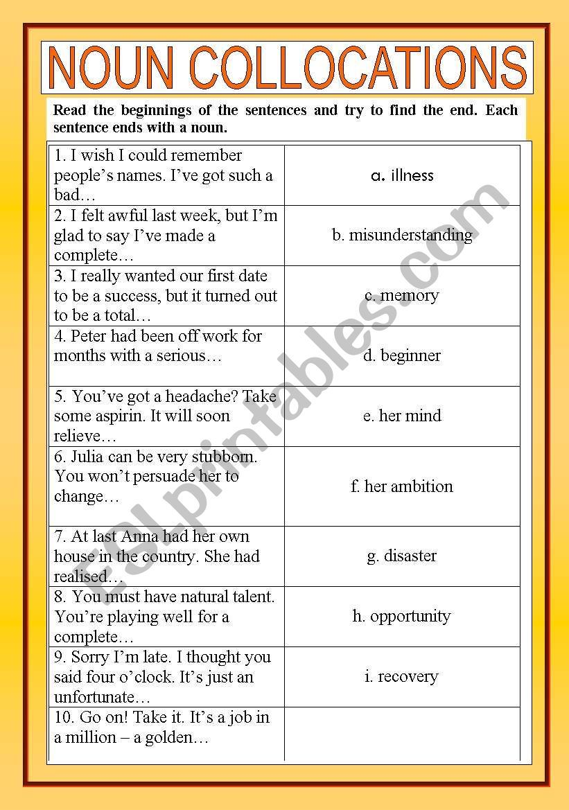 Pin by Melitza on Ingl 3101 Language Skills Nouns