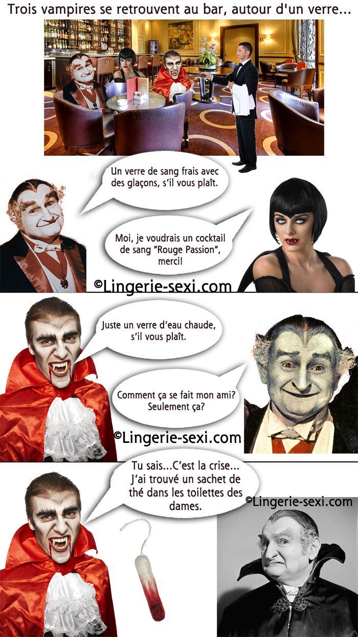 blague sale blague de vampire humour noir bande dessin e coquine sur les vampire du sang et. Black Bedroom Furniture Sets. Home Design Ideas