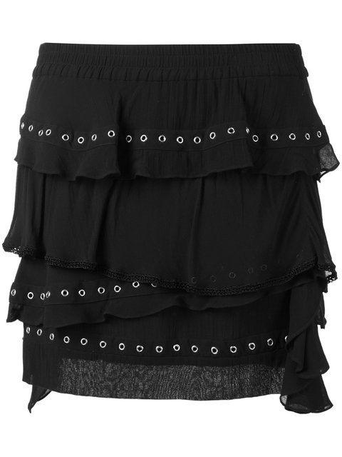 IRO Eyelet Ruffle Skirt. #iro #cloth #skirt