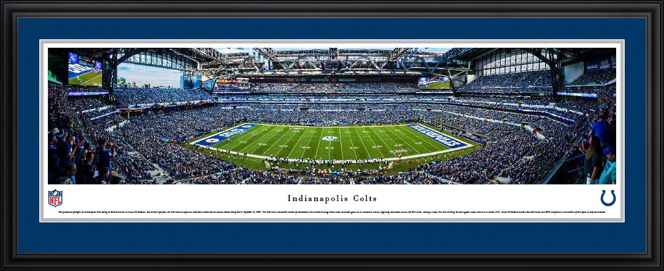 Indianapolis Colts Panoramic Picture Lucas Oil Stadium