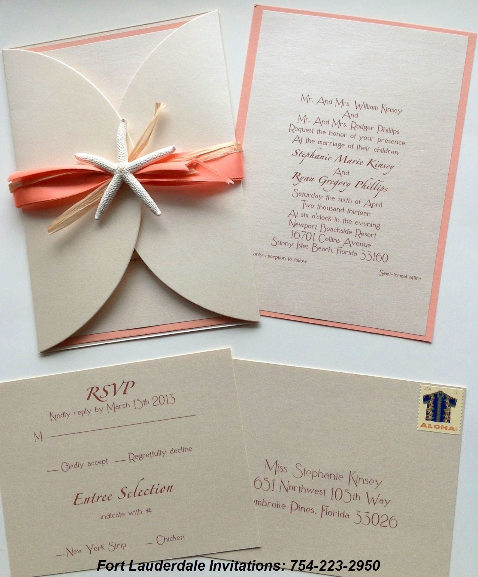 fort lauderdale invitations visit our website for ordering