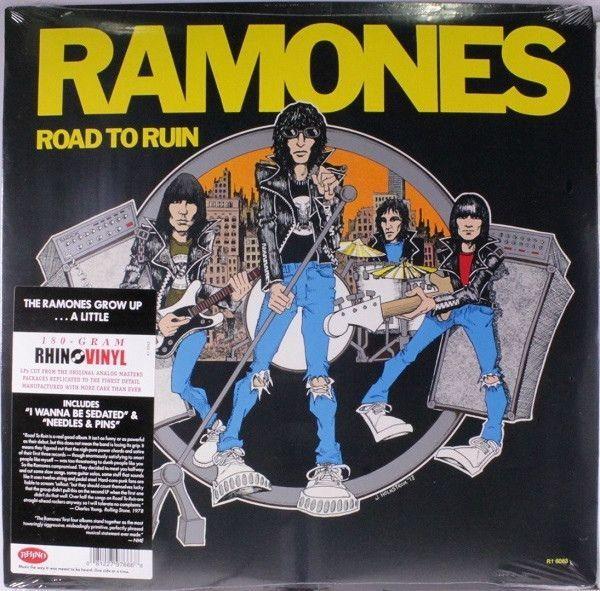Ramones Road To Ruin Lp Products Bandas De Rock
