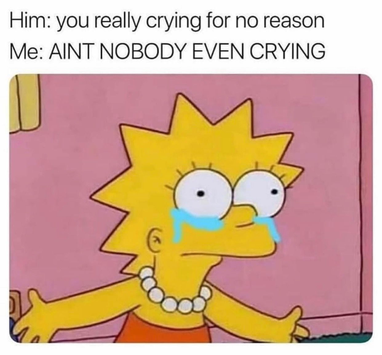 Crying With Images Simpsons Funny Simpsons Meme Funny