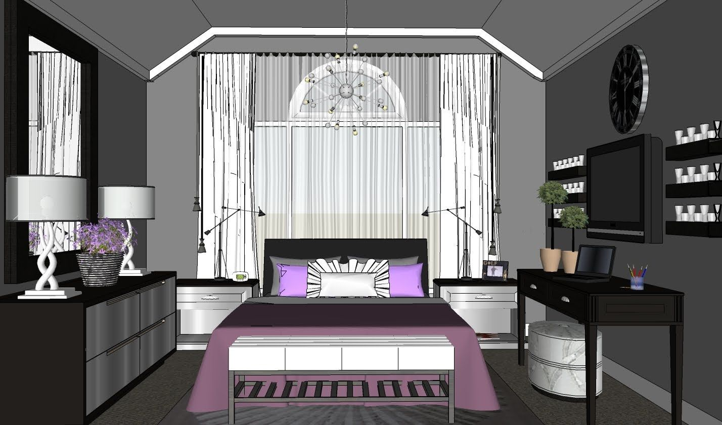 classy bedroom ideas. ROOM TOUR  16 Makeover Mondays Classy Bedroom Design ideas BEDROOM WITH THREE FOCAL WALLS