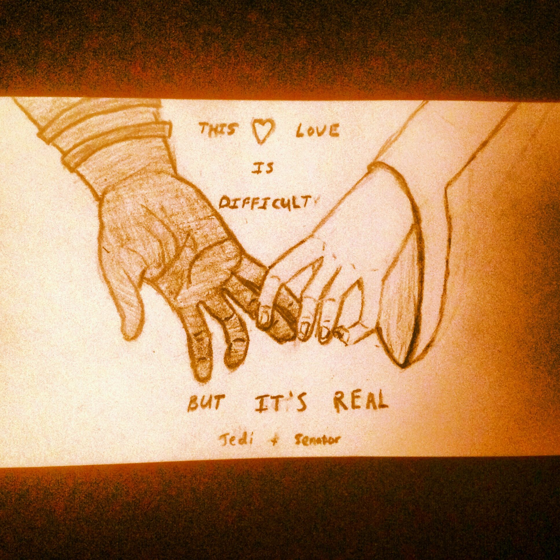My Padme and Anakin fanart. The quote is a lyric from Taylor Swift\'s ...