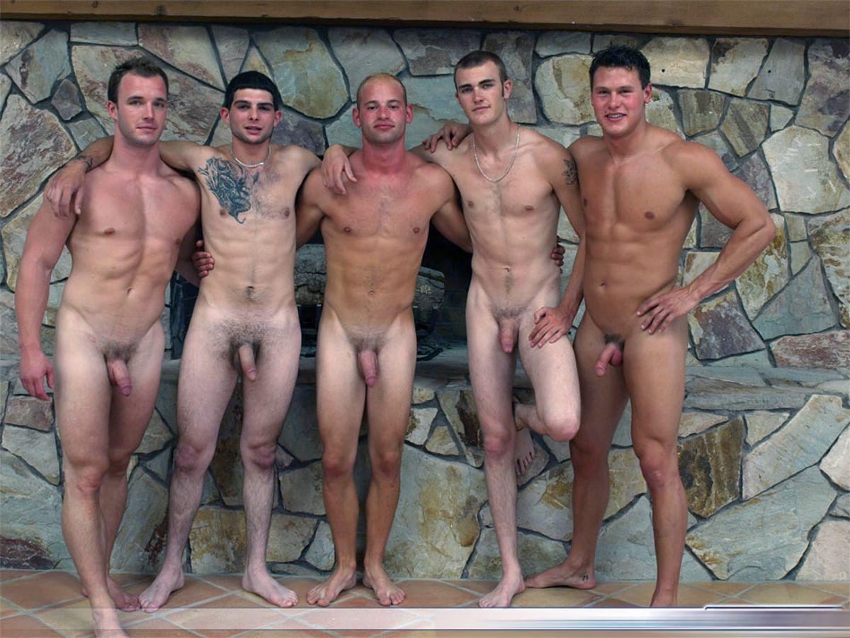 Brilliant idea Straight male nude group