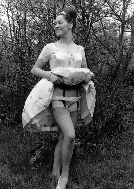 Upskirt pictures of girls in 1960