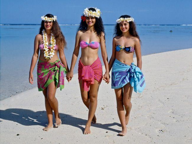 beauties from Rarotonga