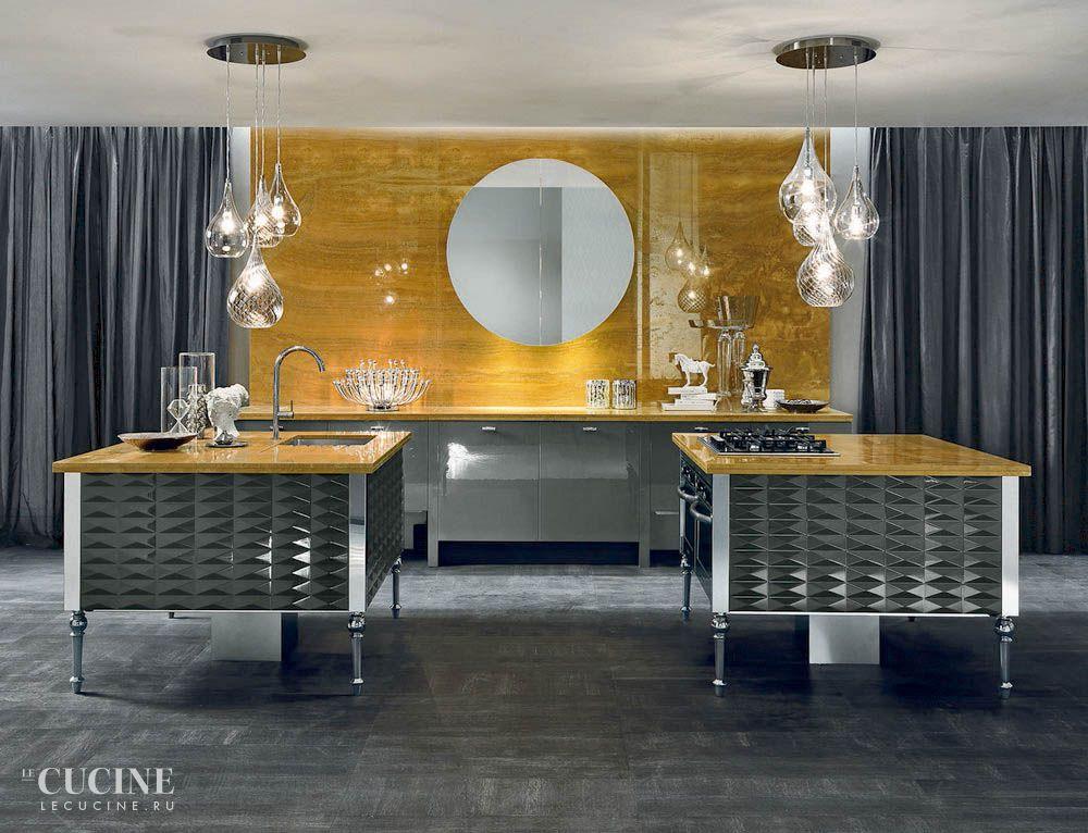 Фотография кухни Aster Cucine Luxury Glam - Cuspide Laccato #1 ...