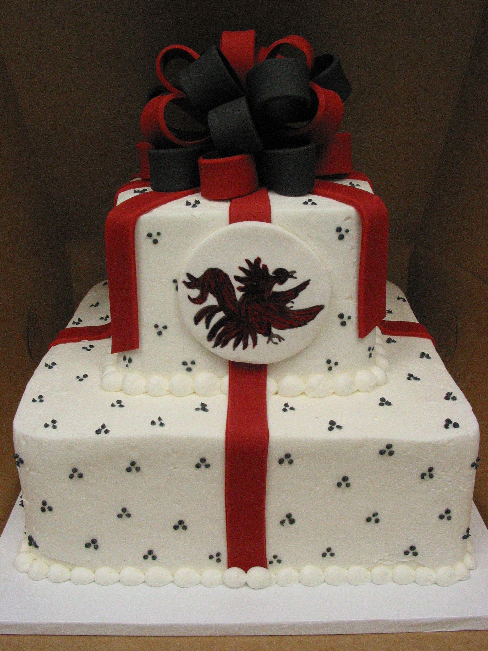 Vintage Bakery Llc Columbia Sc Region Usc Gamecock Groom Cake