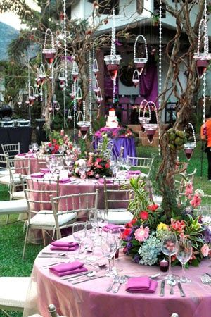 enchanted garden baby shower idea