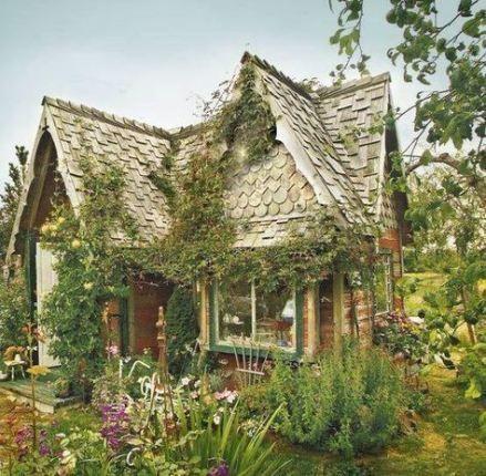 Garden cottage country 26+ ideas #witchcottage