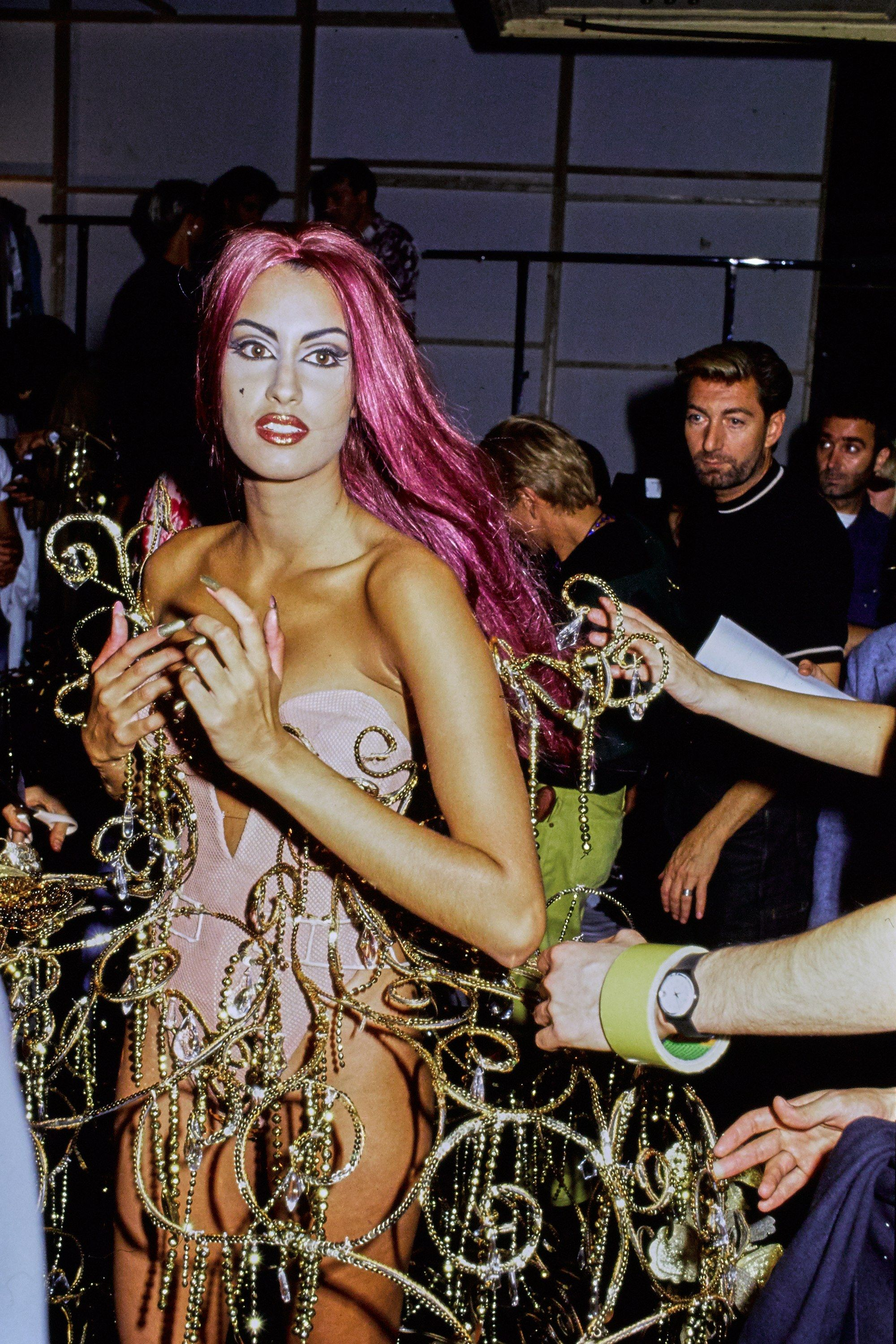Mugler Spring 1992 Ready-to-Wear Fashion Show Atmosphere