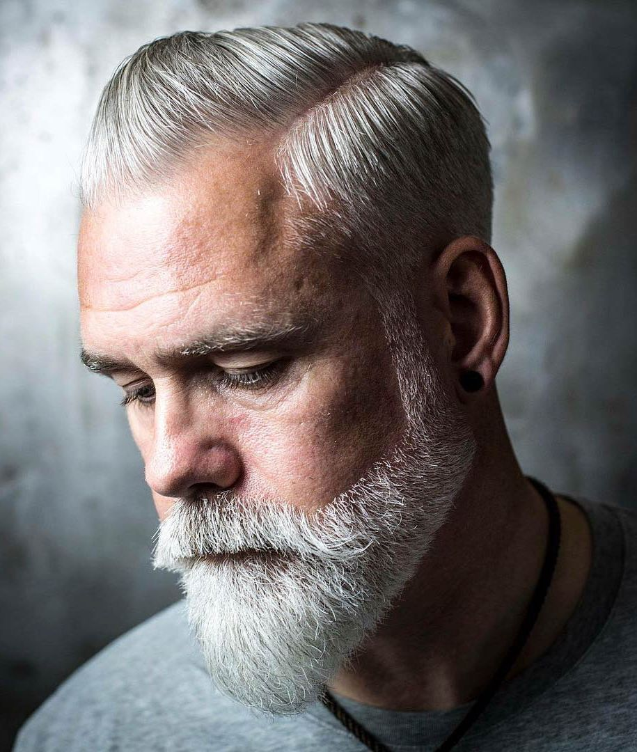 15 glorious hairstyles for men with grey hair aka