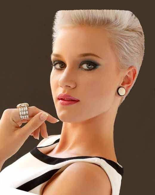 I love this look!!! Du court Short hairstyles for