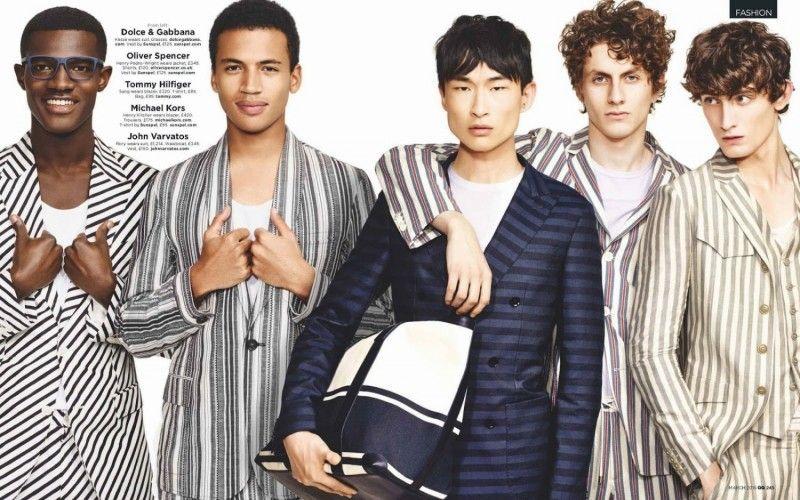 British GQ Tackles Spring Designer Suiting