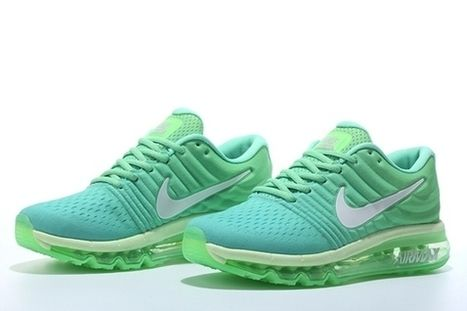 buy online 10d73 9d25a Nike Air Max 2017 Apple Green Women Shoes airmax-037 - 64.99   nike  and adidas sports shoes online store  Scoop.it