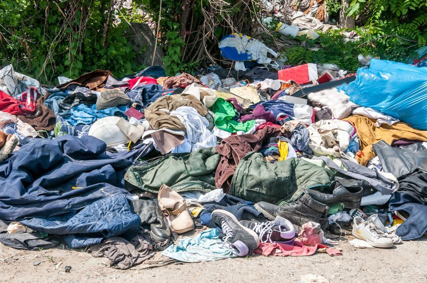 The clothes you donate don't always end up on people's backs is part of Pile Of Clothes Photography - A large portion of the clothing you donate ends up in the landfill  Here's why — and what you can do about it