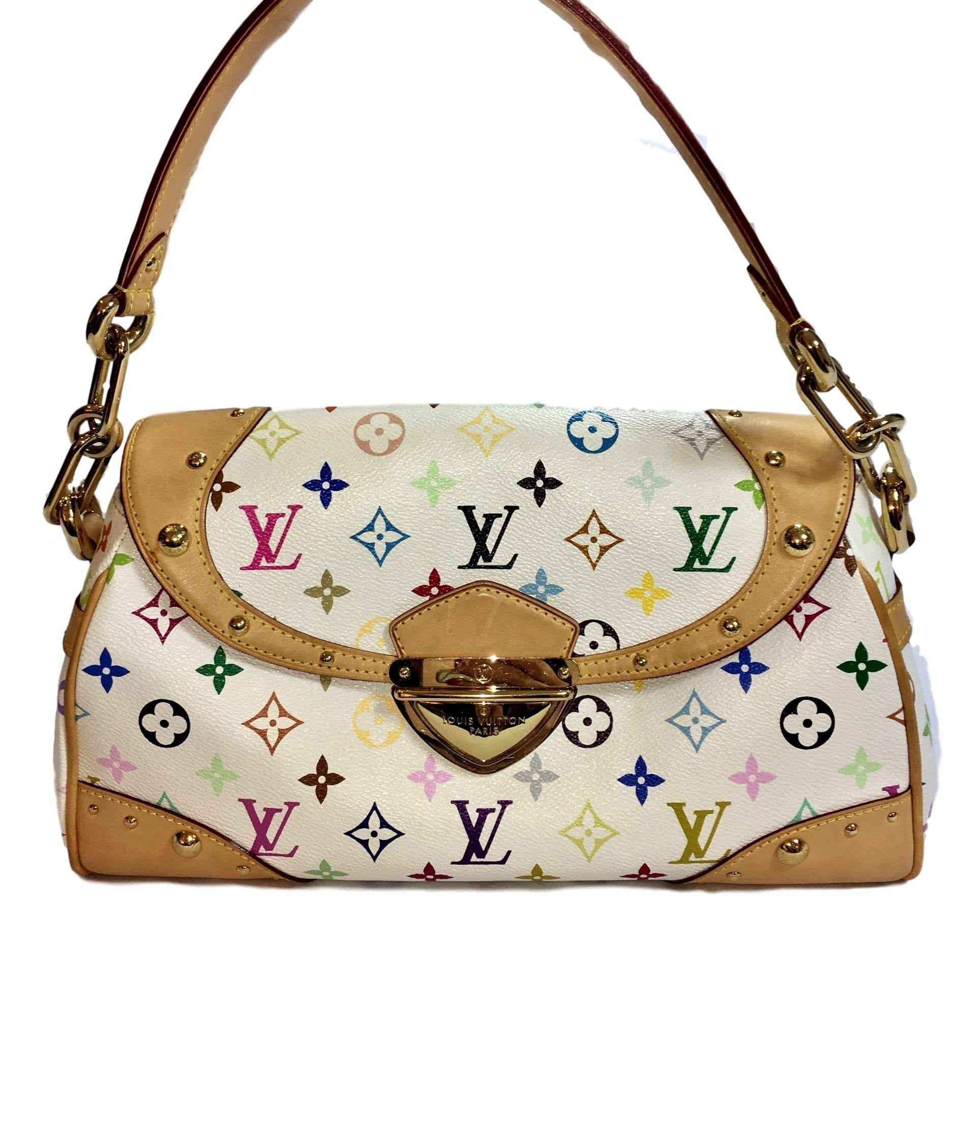 Louis Vuitton Multicolore Monogram MM bag. Very Chic