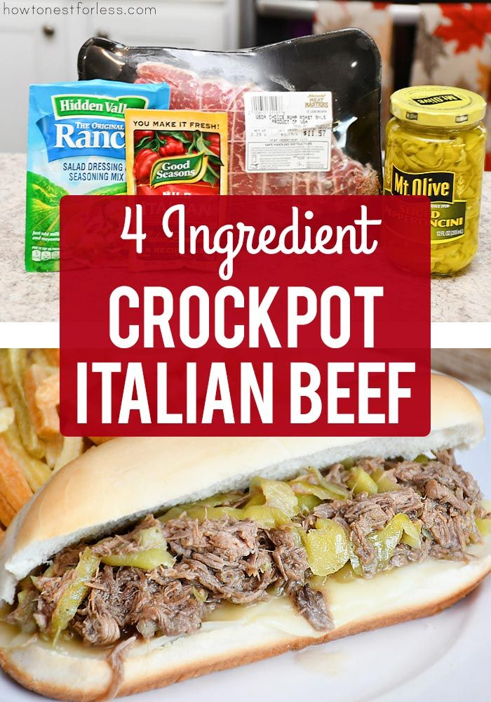 Italian Beef Crockpot images