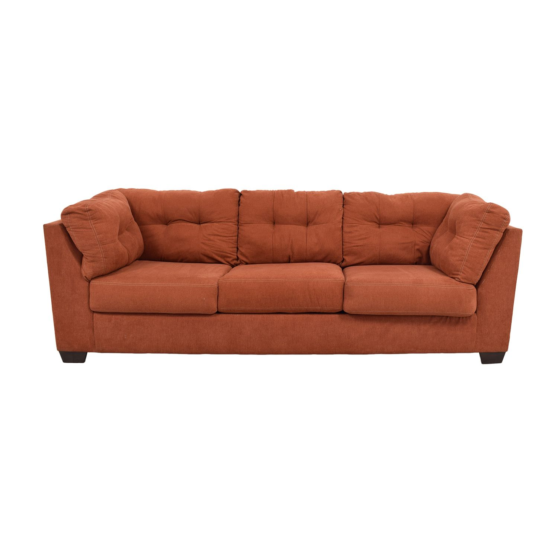 Ashley Furniture Delta City Tufted Sofa On