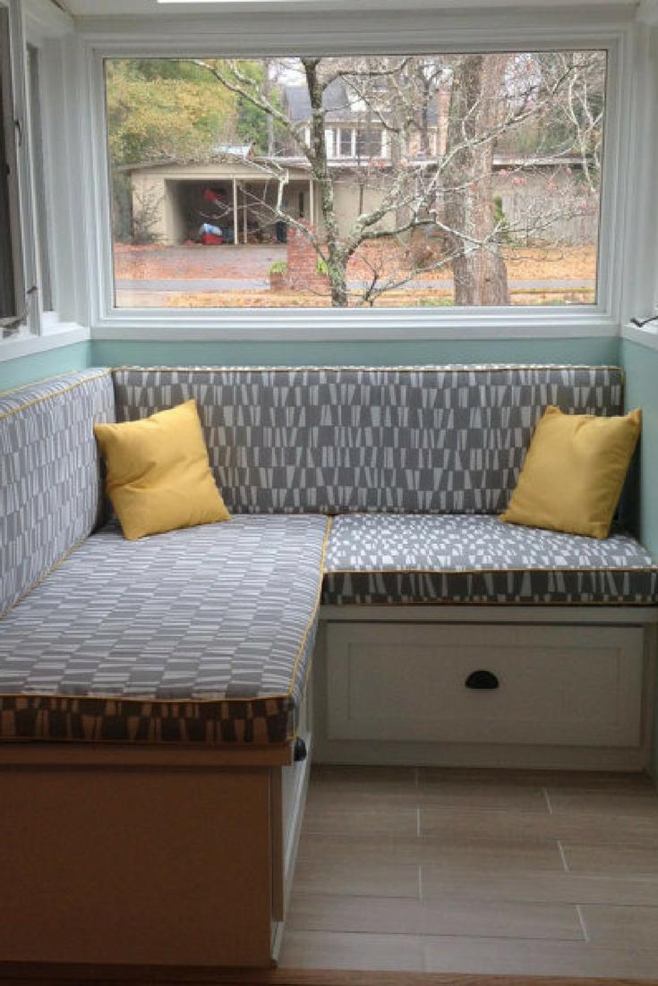 Custom Window Seat Cushion , Mudroom Cushion, Bench Cushion, Nook ...
