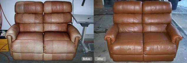Leather Furniture Re Dye