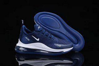 premium selection 7d96a 7e758 Mens Shoes Nike Air Max 720 270 Dark blue white