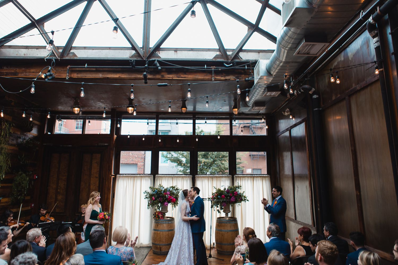 Brooklyn Winery Wedding Amber Marlow in 2020 Winery