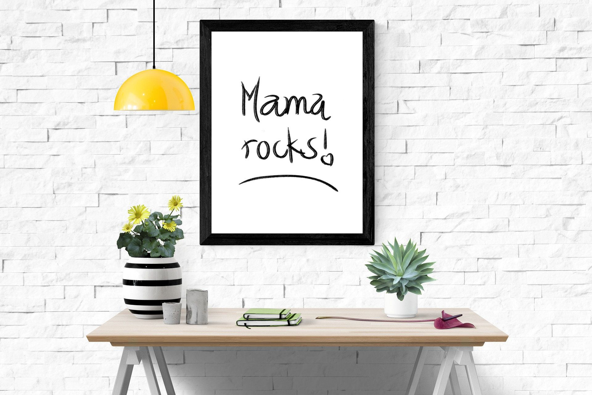 Mama Rocks, Mothers Day Gift, Mothers Day Printable Quotes, Printable