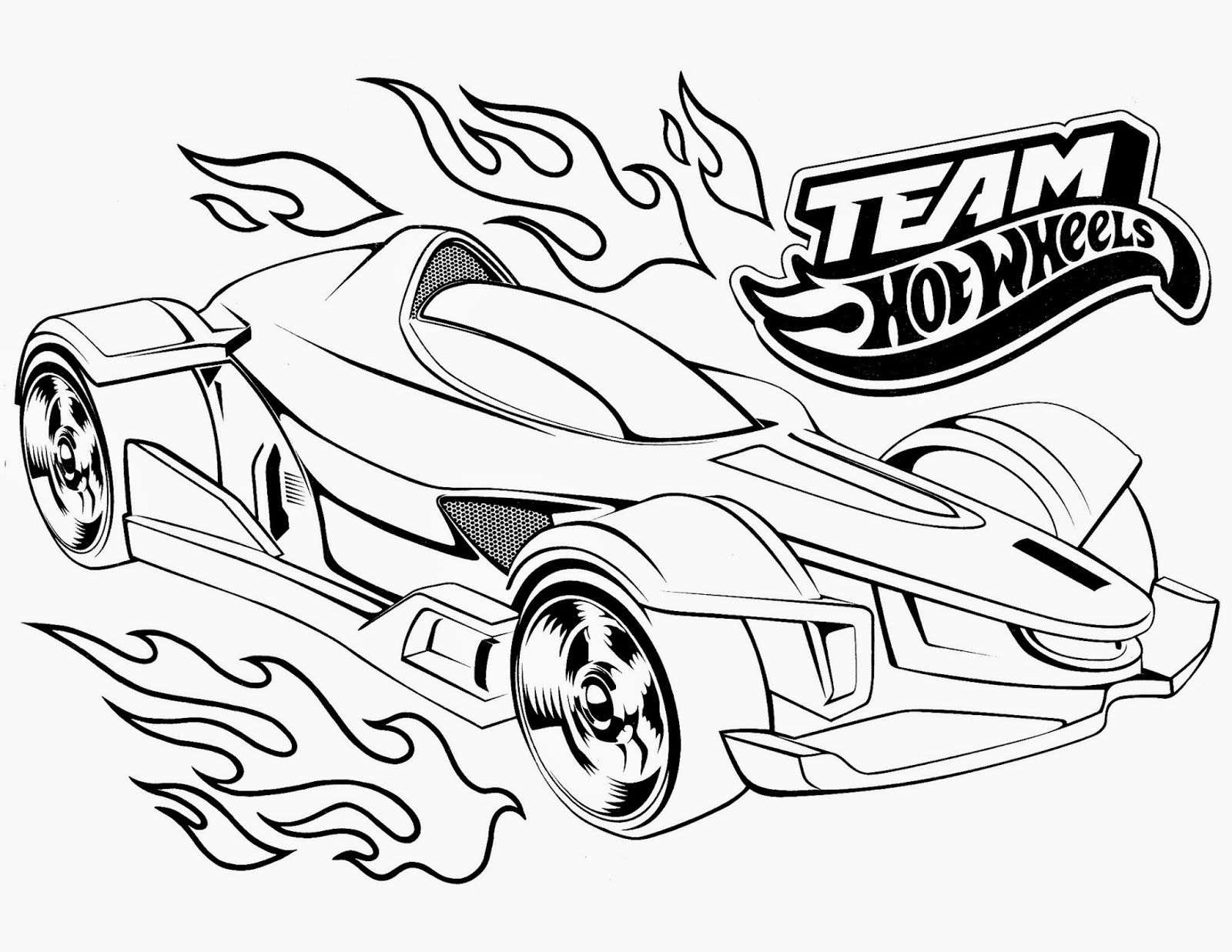 Ausmalbilder Auto Marken : Hot Wheels Pose A Very Modern Form Hot Wheels Coloring Pages