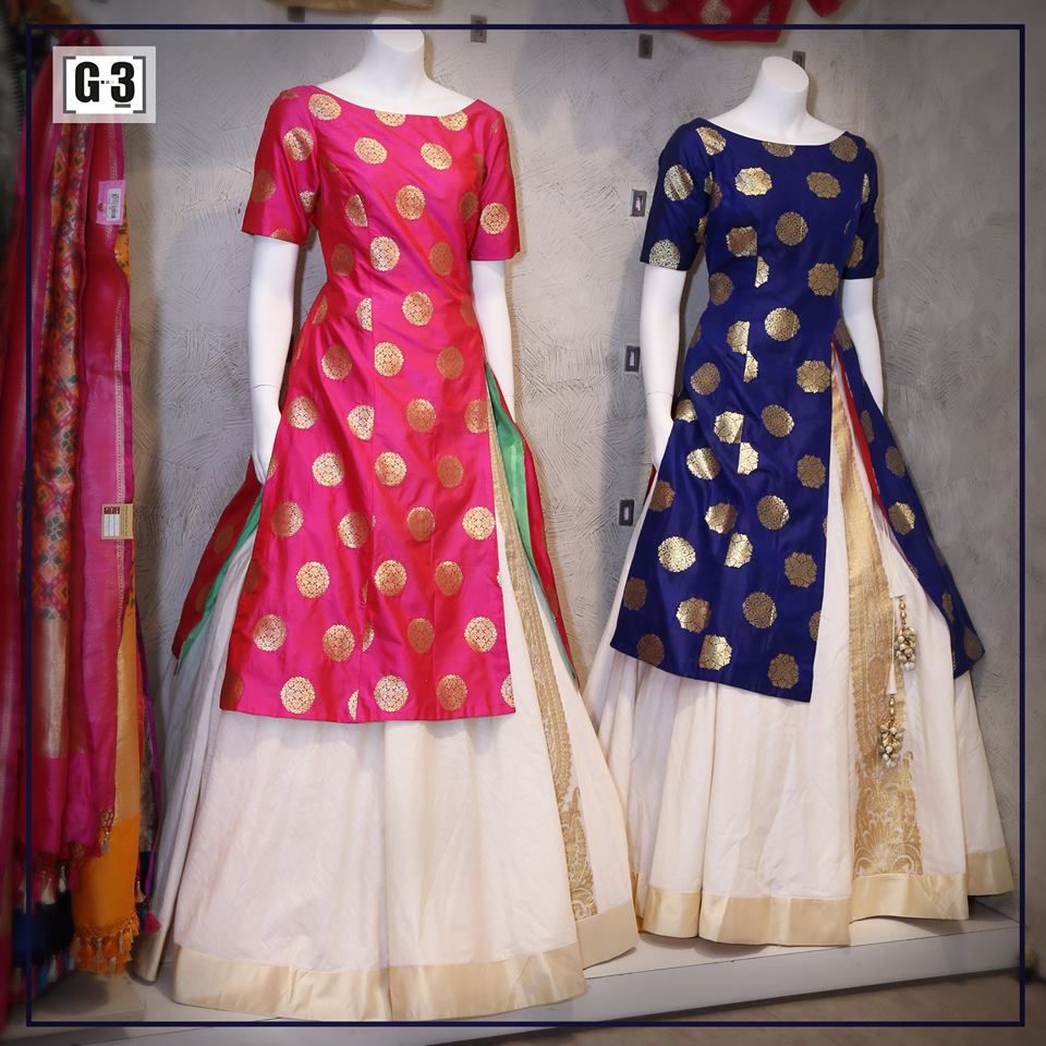 New Styled Salwar Suit In Lehenga Style For Price Please Whatsapp 91 9913433322 Indian Gowns Dresses Fashion Clothes For Women