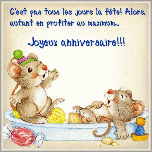 Joyeux anniversaire!!! | Image joyeux anniversaire, Carte ...
