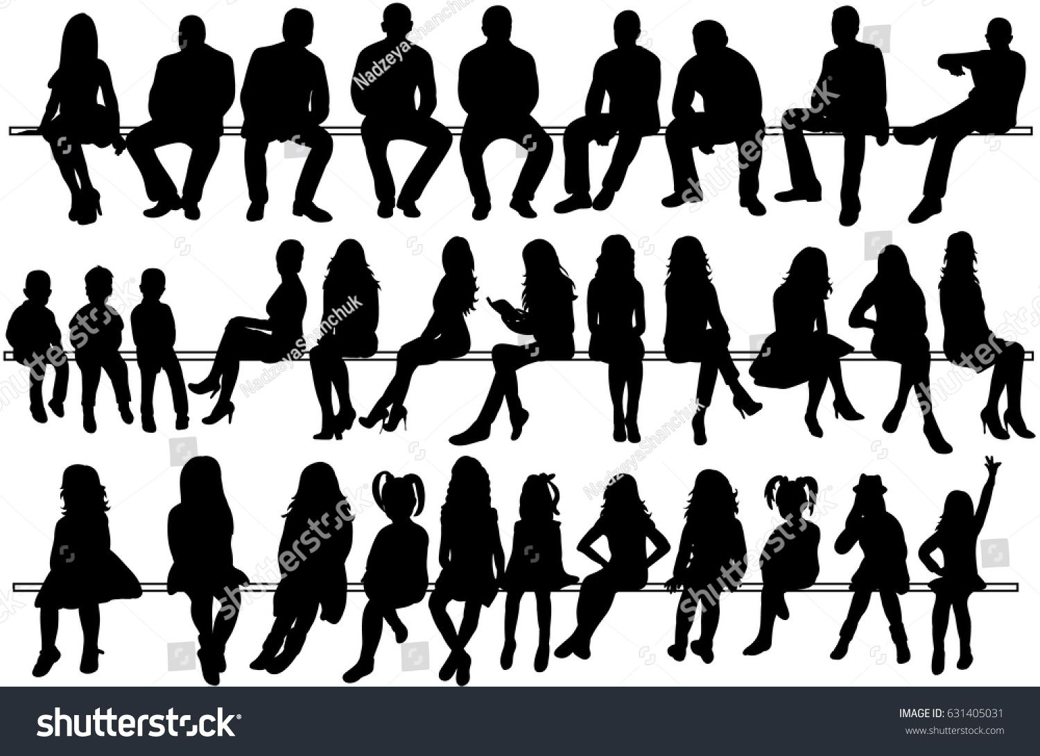Collection Of Silhouettes Of People Sitting Men Girls Children Etc Sponsored Ad People Silh Silhouette People Drawing People Silhouette Architecture
